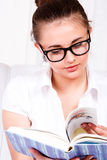 Student in glasses Stock Photography
