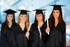 Student Graduating School Royalty Free Stock Photography