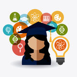 Student graduation design Royalty Free Stock Photography