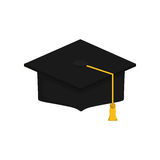 Student Graduation hat. Icon  illustration graphic design Stock Photos