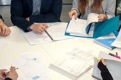 Student group meeting Stock Photos