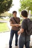 Student handshake Stock Image