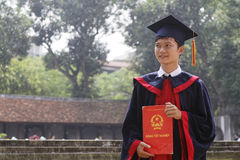 Student in Hanoi Stock Image