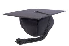 Student hat Royalty Free Stock Photography