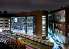 Student Health Facility - chandleren Medical Center - universitet av Kentucky - Lexington, Kentucky royaltyfri foto