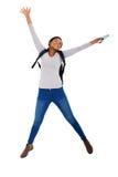 student het springen Stock Foto's