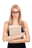 Student holding books Stock Photography