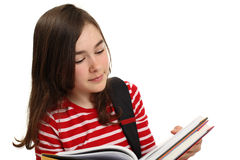 Student holding books Royalty Free Stock Images