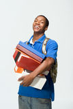 Student Holding Notebooks - Vertical Stock Photos