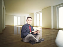 Student at home Royalty Free Stock Photos