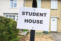 Student house Stock Images