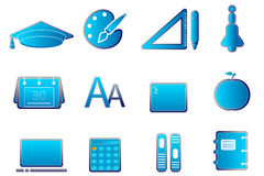 Student icons Stock Images