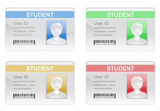 Student ID Card Royalty Free Stock Photos
