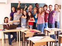 Free Student In Classroom Near Blackboard. Royalty Free Stock Photos - 20686188