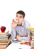 Student with Inhaler Stock Photos