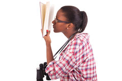 Student-Junge Afroamerikaner Stockfotografie