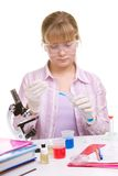 Student in laboratory Stock Photography