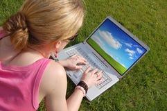 Student on Laptop Stock Photos