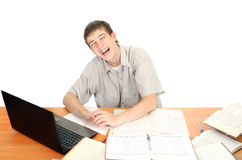 Student Laughing Stock Photos