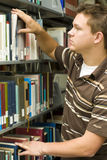 Student in library Royalty Free Stock Image