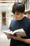Student At the Library Royalty Free Stock Photos