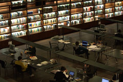 Student library Royalty Free Stock Images