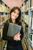 Student at a library Stock Photography
