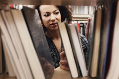 Student in library Stock Images