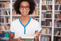 Student in library. Stock Images