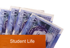 Student life concept Royalty Free Stock Photos