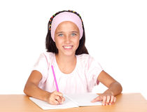 Student little girl Stock Images