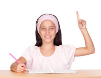 Student little girl Royalty Free Stock Images