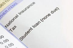 Student loan Stock Photos