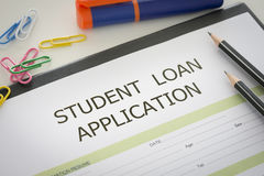 Student loan royalty free stock images