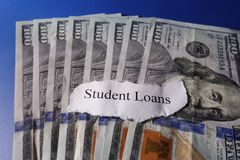 Student Loan Royalty Free Stock Photo