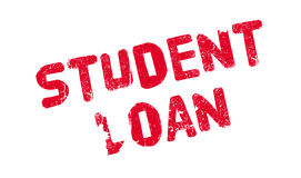 Student Loan rubber stamp Royalty Free Stock Images