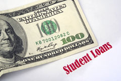 Student Loans. Stock Photography