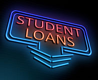 Student loans concept. Stock Photography