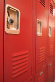 Student Lockers University School Campus Hallway Storage Locker Stock Photography