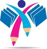 Student logo Royalty Free Stock Image