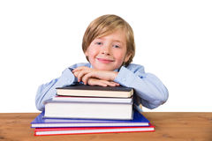 Student looking at the camera Stock Photos