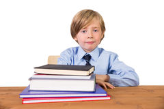 Student looking at the camera Royalty Free Stock Images