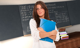 Student in maths Royalty Free Stock Photography