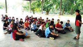 Student Meeting royalty-vrije stock fotografie