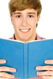 Student met boek Royalty-vrije Stock Afbeeldingen