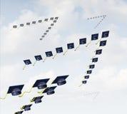 Student Migration Arkivfoto
