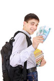 Student with a Money Stock Photo