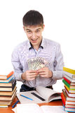 Student with a Money Royalty Free Stock Photo