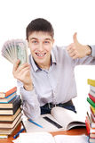 Student with a Money Stock Photography