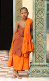 Student Monk Royalty Free Stock Images